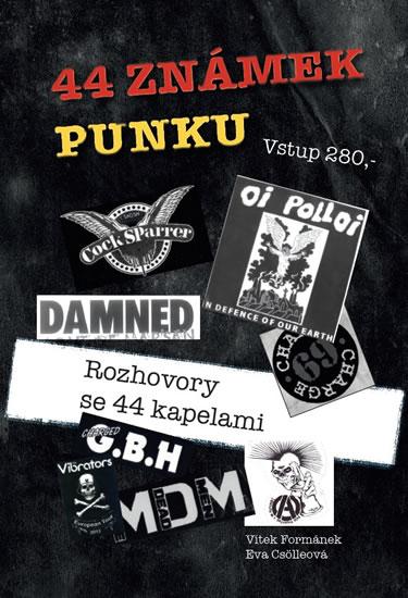 44 známek punku - Formánek Vítek, Csölleová Eva