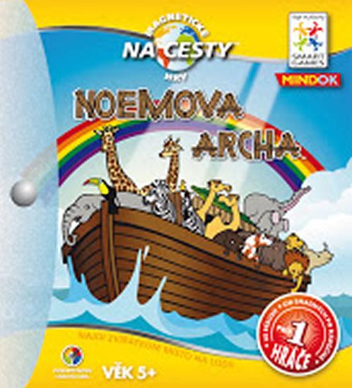 NOEMOVA ARCHA MAGNETICKÁ HRA NA CESTY