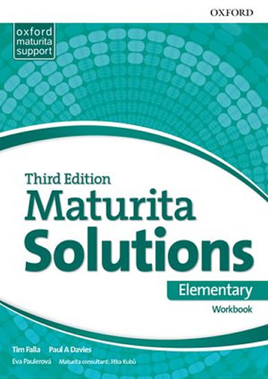 MATURITA SOLUTIONS 3 ED.ELEMENTARY WB/OXFORD