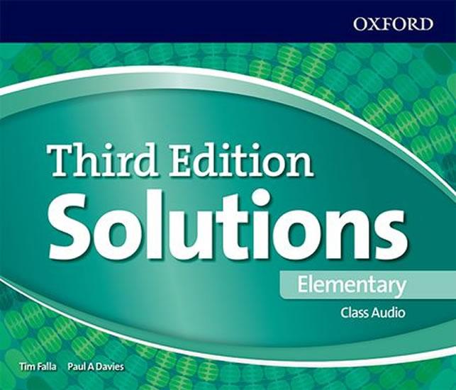 Maturita Solutions 3rd Edition Elementary Class Audio CDs /3/