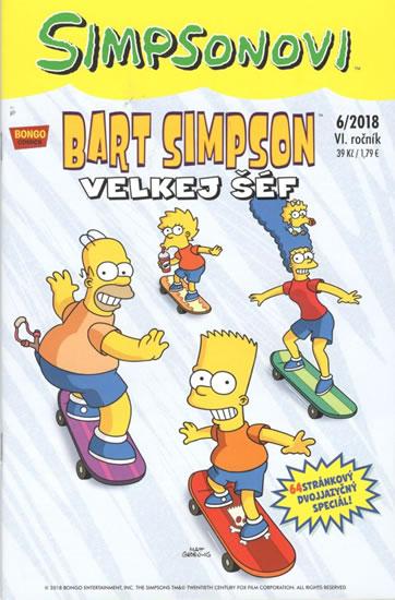 Bart Simpson 06/2018 - Velkej šéf