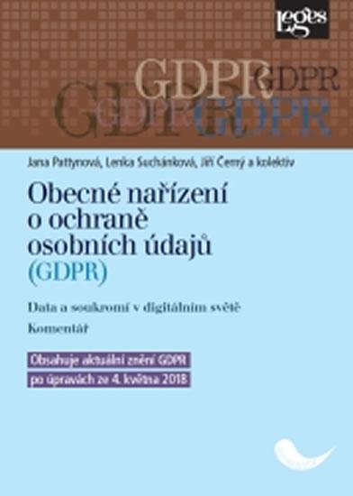 Obecné nařízení o ochraně osobních údajů GDPR