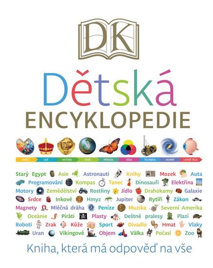 Dětská encyklopedie - Kniha, která má odpověď na vše