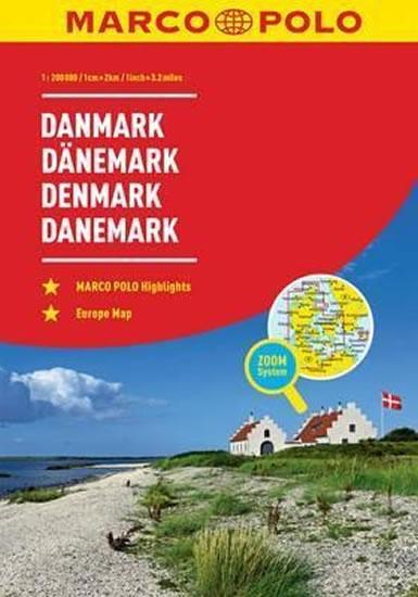 Dánsko/atlas-spirála 1:200T MD