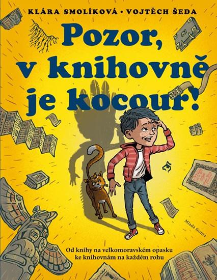 Pozor, v knihovně je kocour!