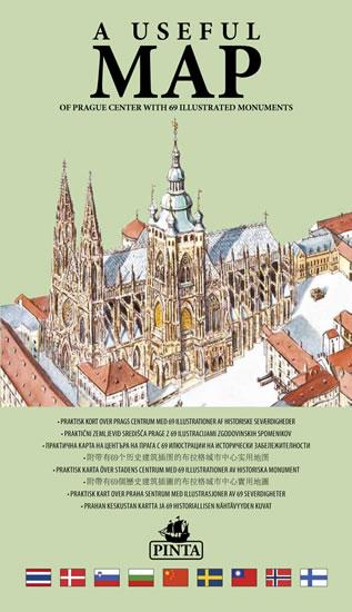 Polozka A Useful Map Prakticka Mapa Centra Prahy S 69