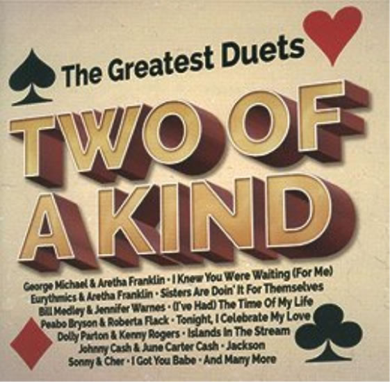 2CD THE GREATEST DUETS - Two Of A Kind