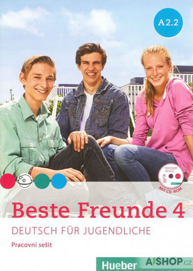 BESTE FREUNDE 4 (A2/2) PRACOVNÍ SEŠIT +CD