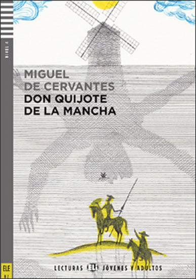 Don Quijote de la Mancha, ELI - Š - Jóvenes y Adultos 4, +CD