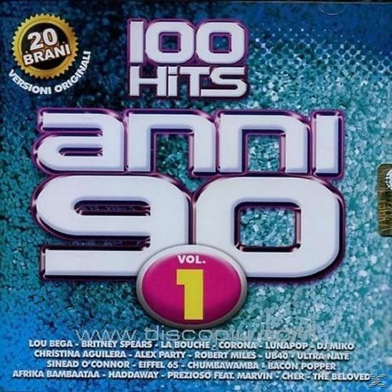 100 hits anni 90 vol. 1 - CD - neuveden