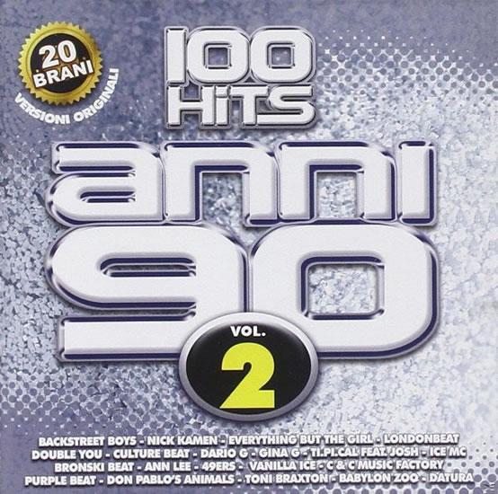 100 hits anni 90 vol. 2 - CD - neuveden
