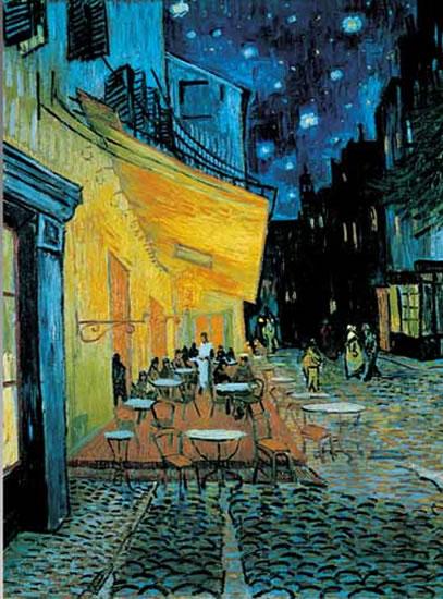 Van Gogh: Kavárna v noci - Puzzle/1000 dílků