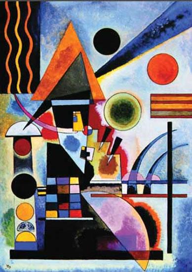 Kandinsky Wassily: Roethel, T. II, N°734 - Puzzle/1000 dílků
