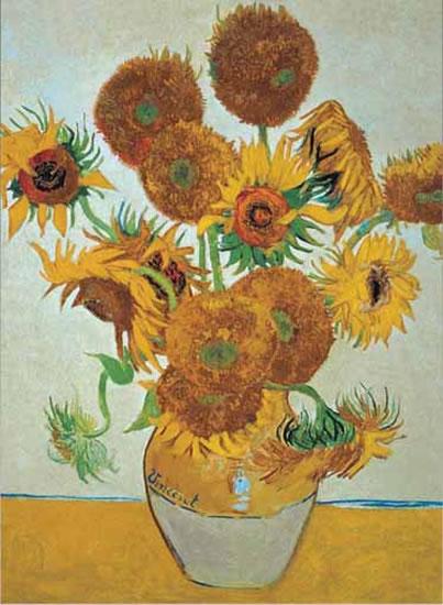 Van Gogh: Slunečnice - Puzzle/1500 dílků