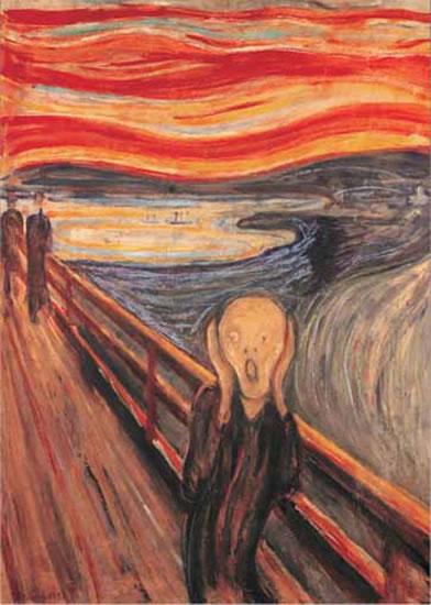 Munch: Výkřik - Puzzle/1000 dílků