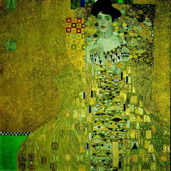 Klimt Gustav: Adele Bloch-Bauer - Puzzle/1000 dílků