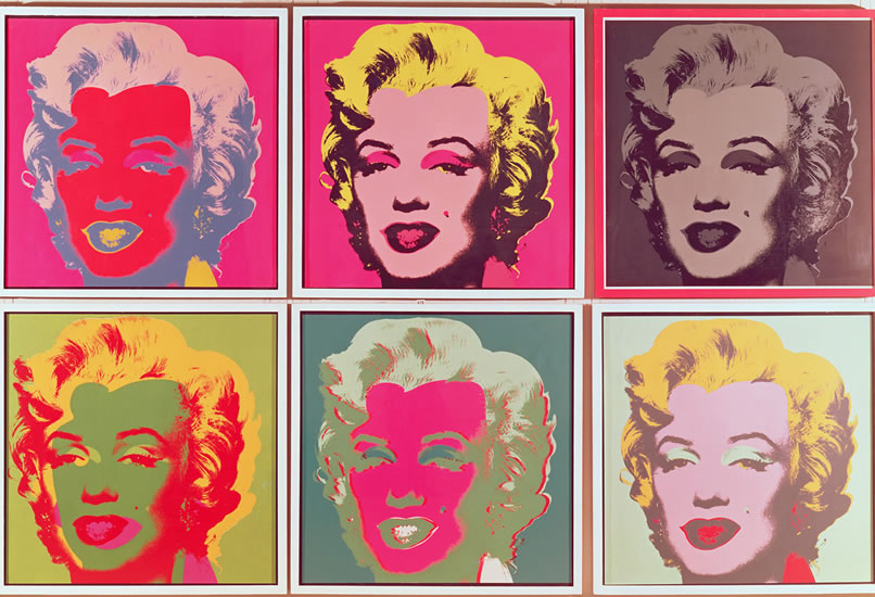 Andy Warhol: Marilyn Monroe - Puzzle/1000 dílků