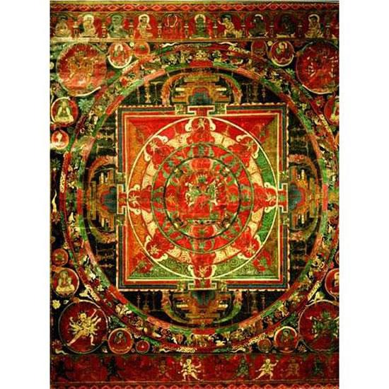 Tibetan Art: Mandala - Puzzle/1500 dílků