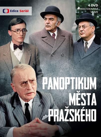Panoptikum města pražského - 4 DVD (remasterovaná verze)