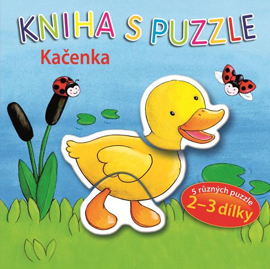 Kačenka - Kniha s puzzle