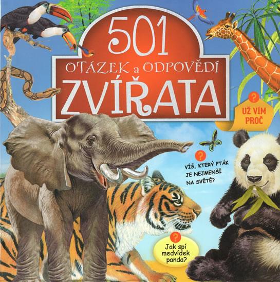 Zvířata - 501 otázek a odpovědí
