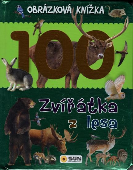 Zvířátka z lesa - Obrázková knížka