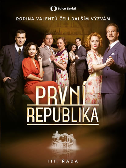 4 DVD První republika III. řada