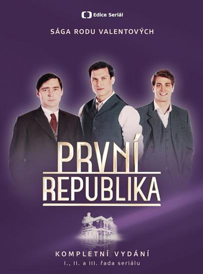 První republika - Komplet 14 DVD