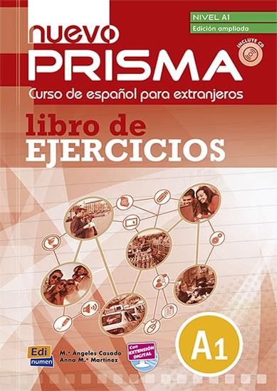 NUEVO PRISMA A1 LIBRO DE EJERCICIOS (EDICIÓN AMPLIADA)