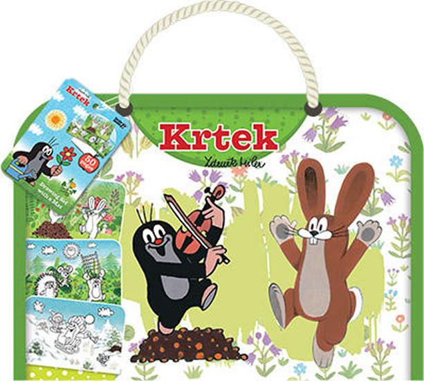 Krtek - Kreslicí blok s podložkou