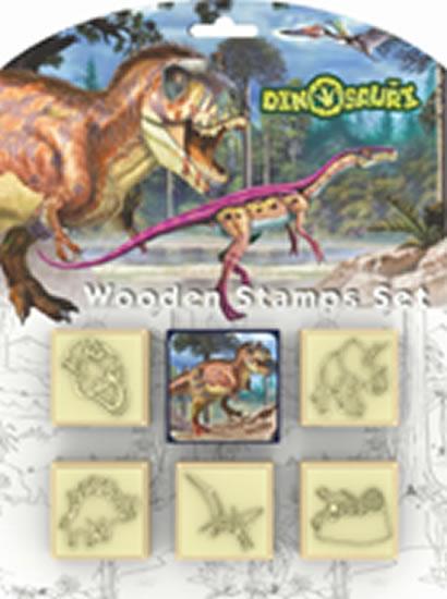 Dinosauři - Razítka 5+1