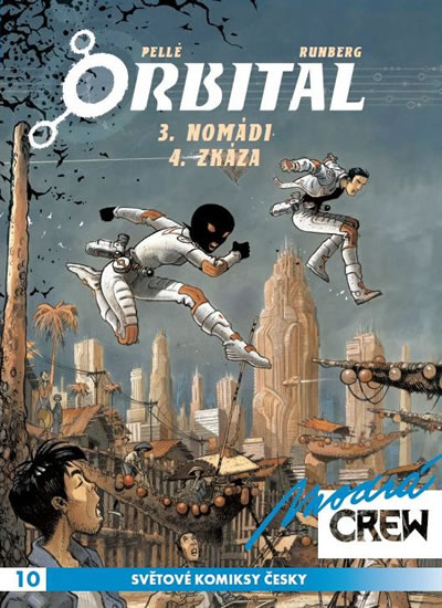 Modrá Crew: Orbital 3, 4