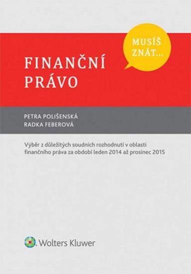 Musíš znát....Finanční právo
