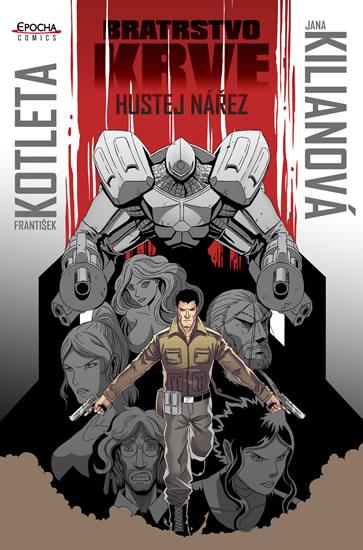 Hustej nářez - Bratrstvo krve 1 - komiks