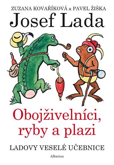 Ladovy veselé učebnice 4 - Obojživelníci, ryby a plazi