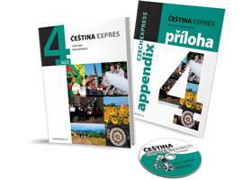 Čeština Expres 4 (A2/2) anglická + CD