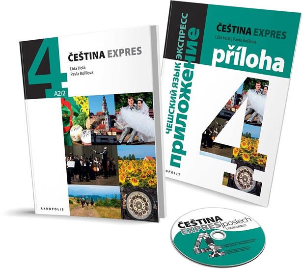 Čeština Expres 4 (A2/2) ruská + CD