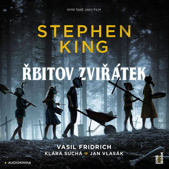 CD Řbitov zviřátek - 2CDmp3 (Čte Vasil Fridrich)