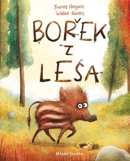 Bořek z lesa. Poetický obrázkový příběh o přátelství a cestě do neznáma