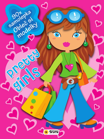 PRETTY GIRLS (PINK) - 90 SAMOLEPEK