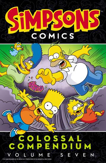 Simpsons Comics Colossal Compendium: Volume 7