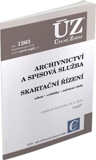 ÚZ 1263 ARCHIVNICTVÍ A SPISOVÁ SLUŽBA