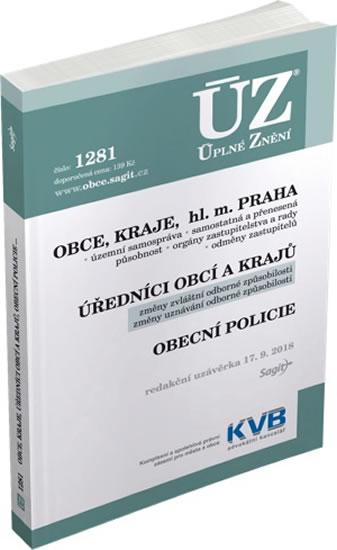 ÚZ 1281 Obce, kraje, hl. m. Praha, úřednici obcí a krajů, obecní policie