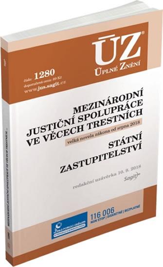 ÚZ 1280 Mezinárodní justiční spolupráce ve věcech trestních, státní zastupitelství