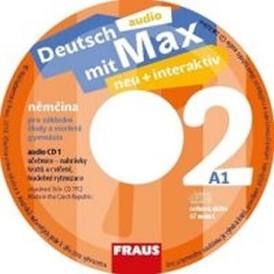 CD Deutsch mit Max neu+Interaktiv 2CD 2ks