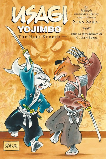 Usagi Yojimbo: Pekelná malba