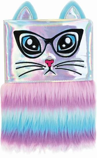 Plyšový deník - Duhová kočka