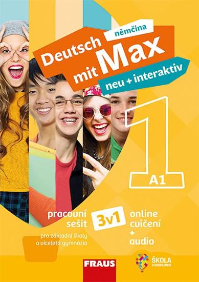 DEUTSCH MIT MAX NEU 1 PS + INTERAKTIV (3V1)