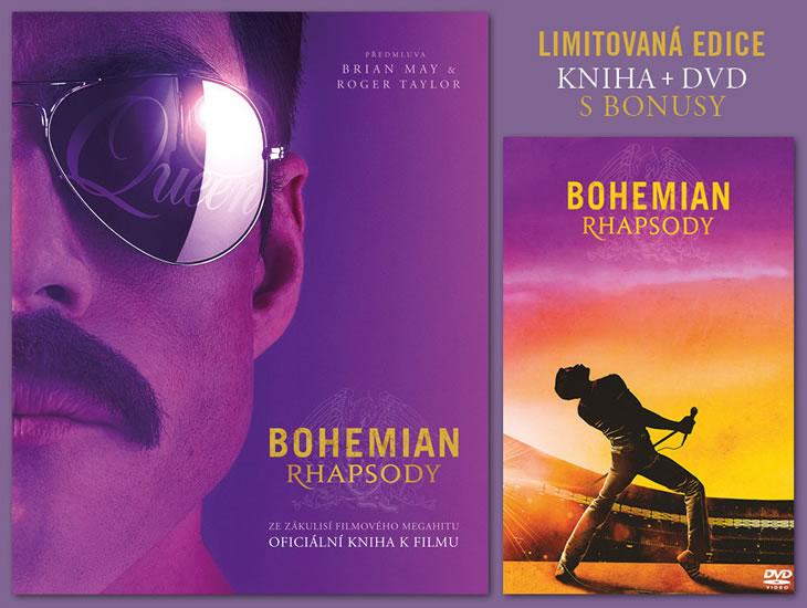 Bohemian Rhapsody Kniha + DVD