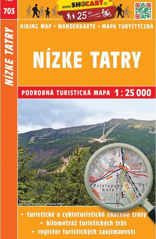 18 703 Nizke Tatry Turisticka Mapa Shocart Neuveden